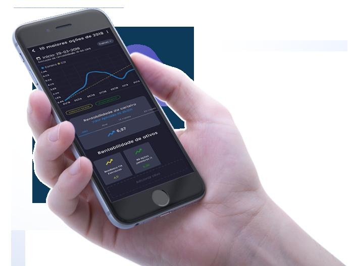 App de simulador de investimentos da SmartBrain
