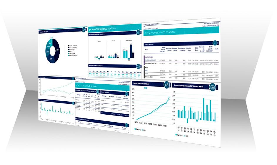 Plataforma de consolidação de extratos de investimentos financeiros e imobiliários